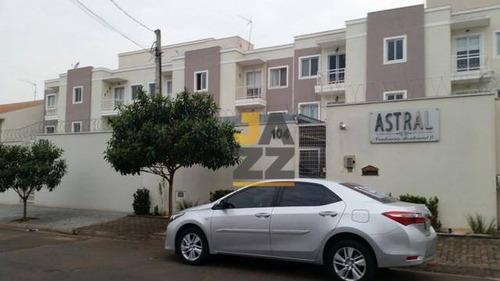 Imagem 1 de 6 de Belo Apartamento Com 2 Dormitórios À Venda, 73 M² Por R$ 210.000 - Parque Residencial Jaguari - Americana/sp - Ap7406