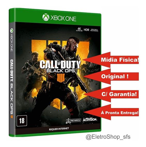 Call Of Dutty Black Ops 4 Xbox One Mídia Física Original