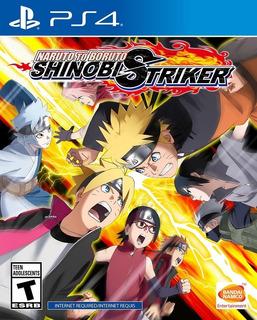 Naruto To Boruto Ps4 Shinobi Striker Nuevo Disponible