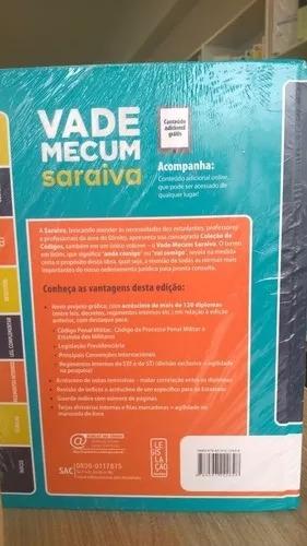 Vade Mecum Tradicional Saraiva - 25ª Ed - 2018