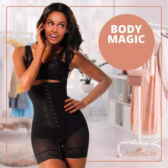 Fajas Remodeladoras Body Magic Mayoreo 5 Pzas