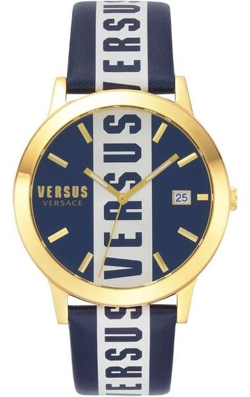 Reloj Para Caballero Versus Versace Barbes Vspln0219 Azul