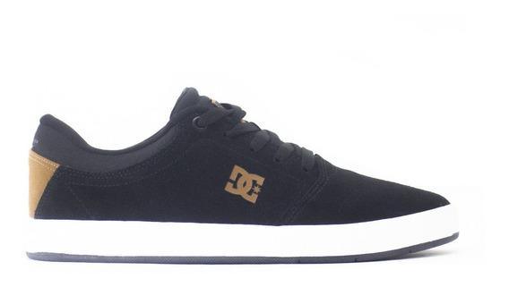 Tenis Dc Shoes Crisis Black/brown/blk Adys100029lxkck
