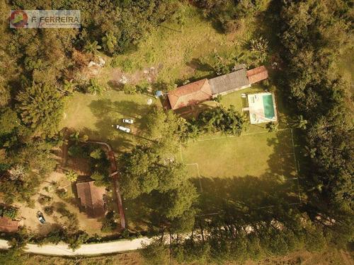 Chácara Com 3 Dormitórios À Venda, 9000 M² Por R$ 850.000,00 - Lagoa - Itapecerica Da Serra/sp - Ch0065