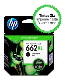 Cartucho Hp 662xl Negro Cz105al Original 1515 2515 2545 3515