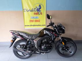 Haojue Suzuki Dk 150 Cbs Honda Cg Fan 2019 Preta Preto