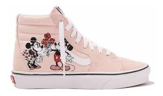 Tênis Vans X Disney Sk8-hi Mickey & Minnie Feminino