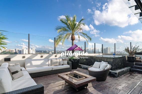Cobertura Com 3 Dormitórios À Venda, 244 M² Por R$ 1.500.000,00 - Jardim Esplanada Ii - São José Dos Campos/sp - Co0126