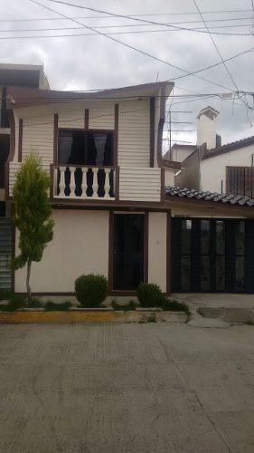 Hermosa Casa Recién Remodelada Ubicada En La Cañada Apizaco Tlax.