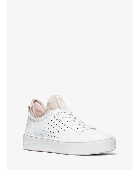 Tenis Mujer Michael Kors Piel Scuba Sneaker Moda Plataforma