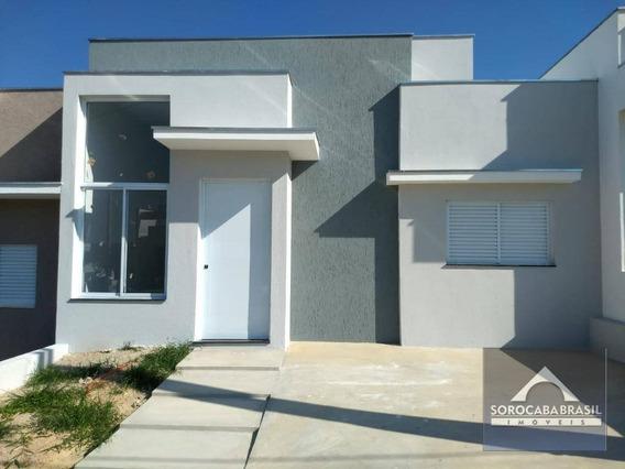 Casa Com 3 Dormitórios À Venda, 94 M² Por R$ 350.000 - Condomínio Terras De São Francisco - Sorocaba/sp - Ca0118