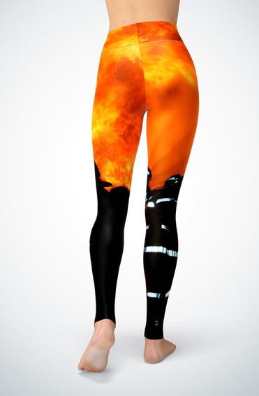 Pantalon Calza Dama Ztc-0140- Bomberos 2