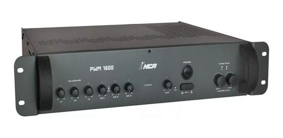 Amplificador Som Ambiente Pwm 1600 400w - Nca