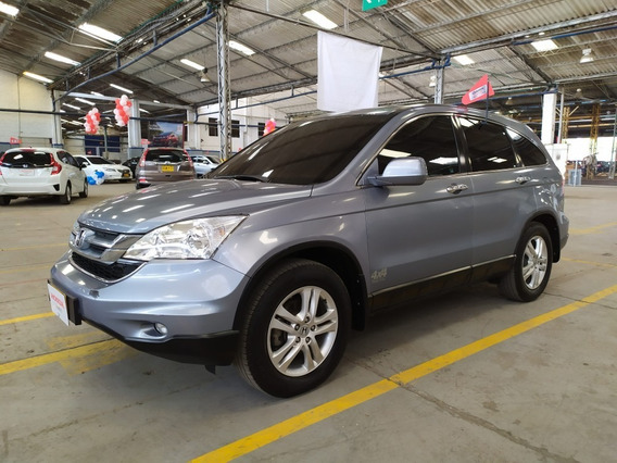 Honda Cr-v Exl 2010 At 4x4 Azul
