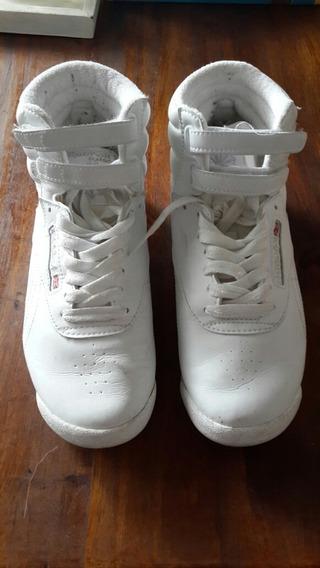 Zapatillas Botitas Reebok De Mujer 38 1/2. Casi Sin Uso