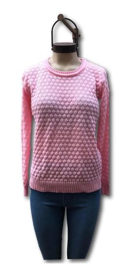 Sweater Básico De Mujer Burbuja* Chuva Ropa