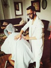 Massagem Relaxagente.