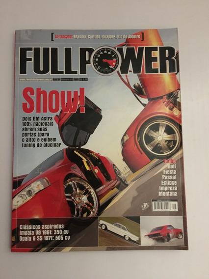 Revista Full Power 38 - 2005 Golf Fiesta Passat Eclipse
