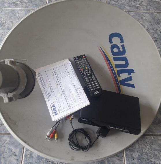 Kit Satelital Can-tv Completo