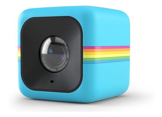 Mini Câmera De Ação Polaroid Modelo Polcubelsbl
