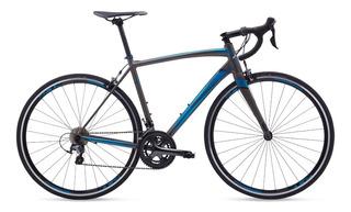 Bicicleta Ruta Polygon Strattos S4 Shimano Tiagra R28 2 X 10v - Ciclos
