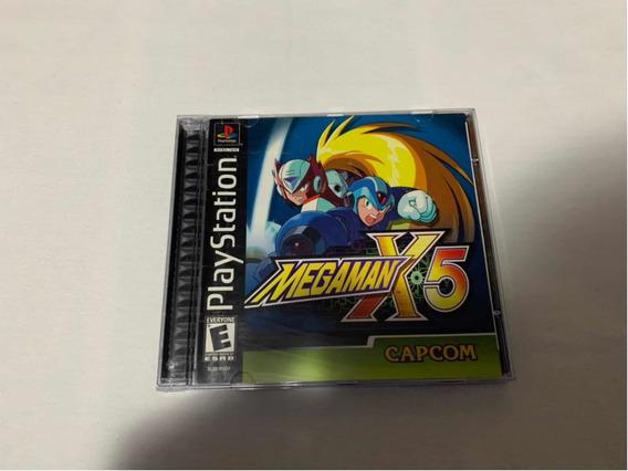 Mega Man X5 Ps1 Completo Original Americano #2