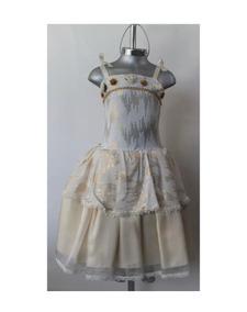 Hermoso Vestido De Fiesta Niña. Boda, Xv Años, Graduaciones