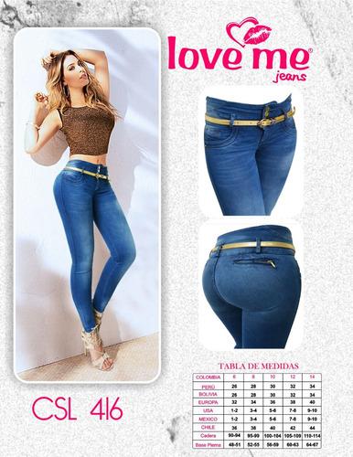 Jeans Love Me Al Mejor Precio - $ 68.000 en Mercado Libre