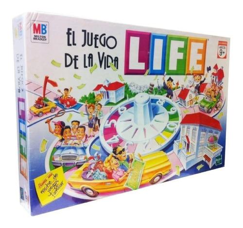 Imagen 1 de 9 de El Juego De La Vida Life Clasico Original Hasbro Playking