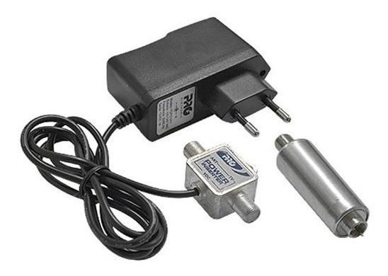 Mini Booster Uhf 40db Bivolt Pqbt-4000 Proeletronic