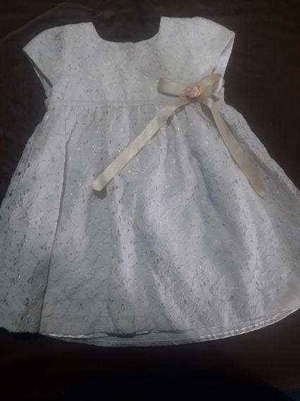 Vestido De Fiesta De 12 A 18 Meses, Mimmo.