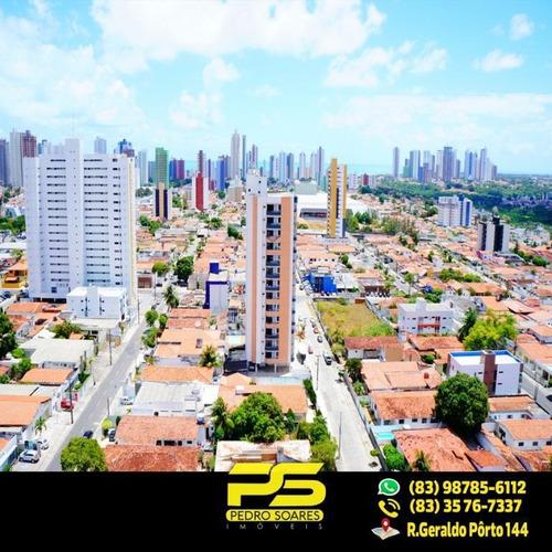Apartamento Com 3 Dormitórios À Venda, 104 M² Por R$ 569.000 - Tambauzinho - João Pessoa/pb - Ap1740