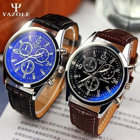 Relógio Masculino Original Couro
