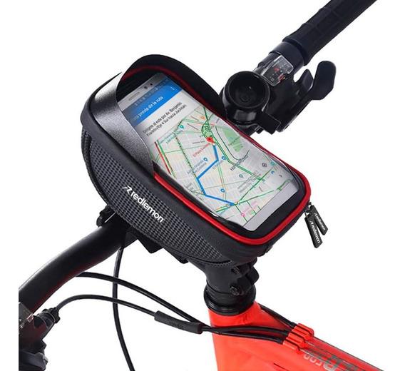 Redlemon Bolsa Para Bicicleta Impermeable Para Smartphone