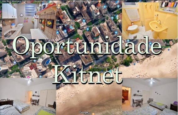 Kitnet Guarujá Quadra Mar Oportunidade Única!! - Kn0008