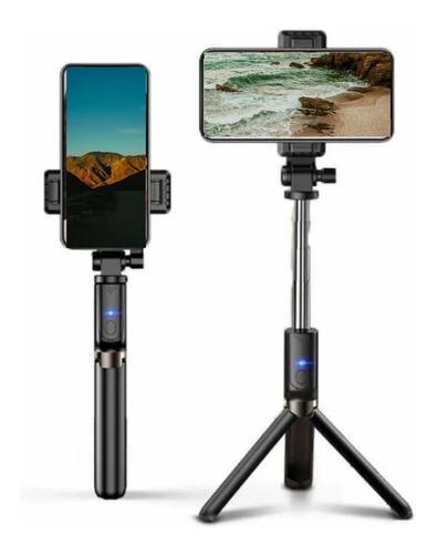 Bastão De Selfie Monopod Bluetooth Tripe Galaxy iPhone