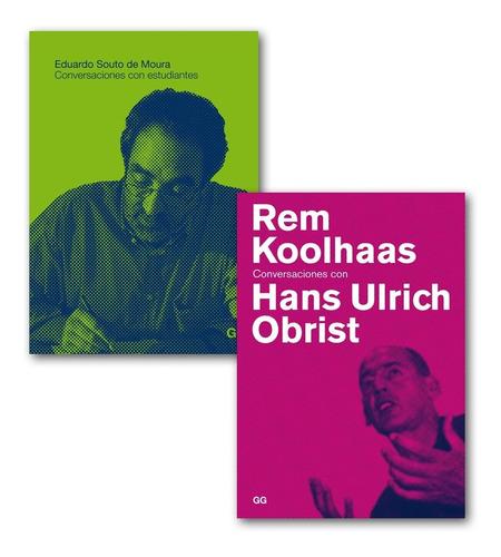 Souto De Moura + Rem Koolhaas. Paquete De Libros.