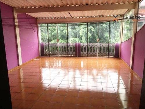 Imagem 1 de 30 de Sobrado Com 3 Dormitórios À Venda, 203 M² Por R$ 600.000,00 - Jardim Milena - Santo André/sp - So0463