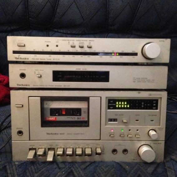 Technics Amplifier Tuner Tape