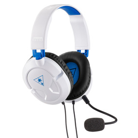Audífono Gamer Modelo Recon 50p Blanco Ps4 Turtle Beach