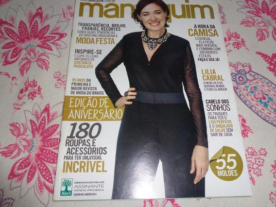Revista Manequim Lília Cabral