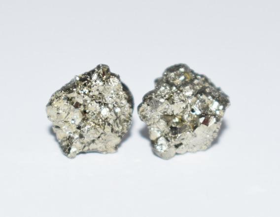 Aretes Piedra Pirita
