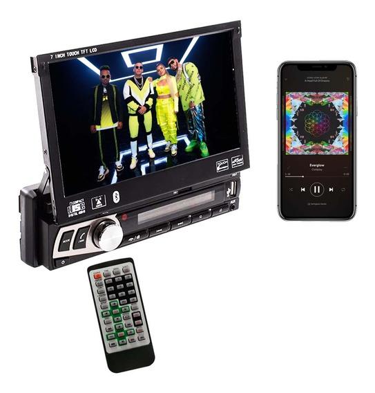 Stereo Pantalla Tactil 7 Bluetooth Camara Retroceso Sd
