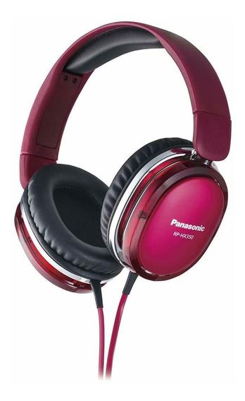 Fone De Ouvido Panasonic Rp-hx550-r Vermelho