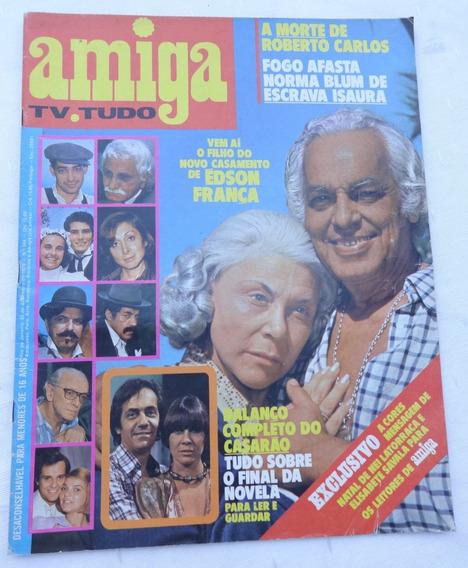 Amiga Nº 344: O Casarão - Guia Tv - Escrava Isaura - Roberto