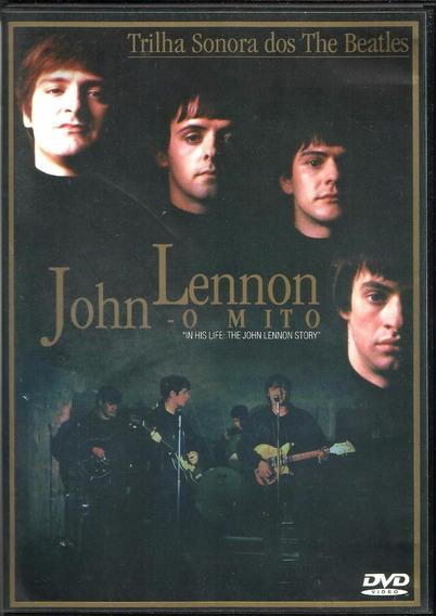 Dvd John Lennon O Mito The John Lennon History The Beatles