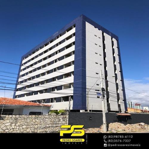 Apartamento Com 3 Dormitórios À Venda, 95 M² Por R$ 595.000 - Estados - João Pessoa/pb - Ap4362