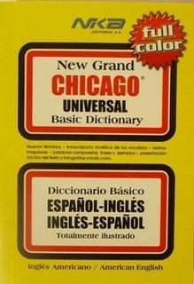 Diccionario Básico Chicago Español - Ingles/ingles- Español