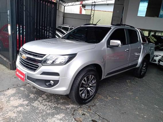 Chevrolet S10 Ltz 2.5 Flex 4x4 Dupla 2017 Prata Equipada