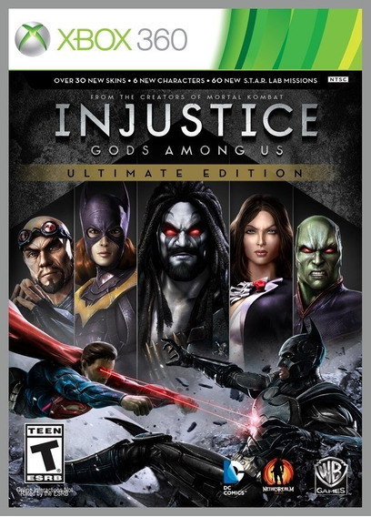 Game Xbox 360 Injustice Gods Among Us Ultimate - Usado Bom